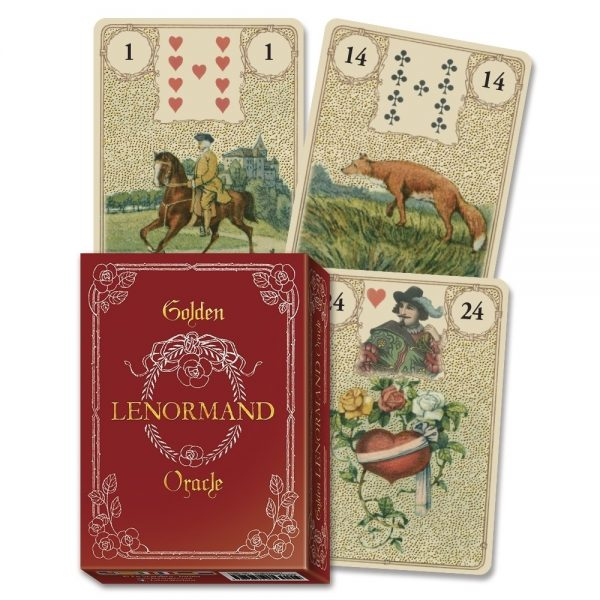 Golden Lenormand Oracle 2