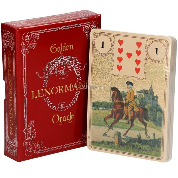 Golden Lenormand Oracle 3