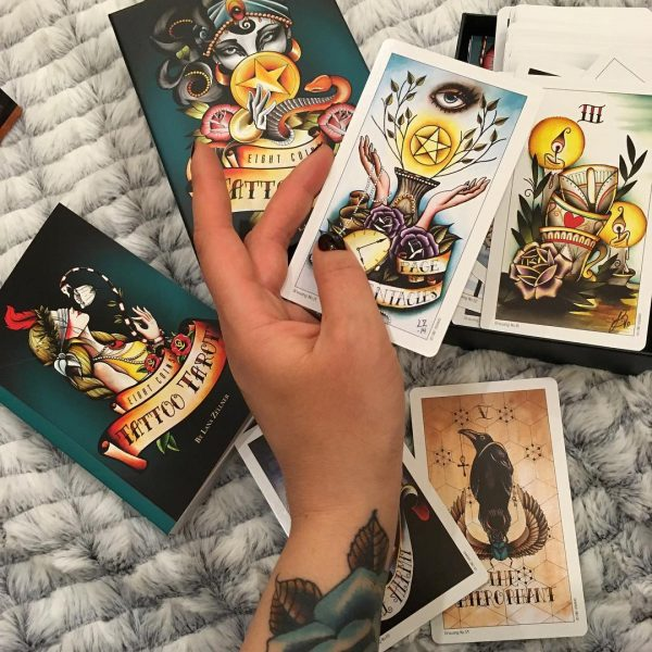 Eight Coins Tattoo Tarot 3