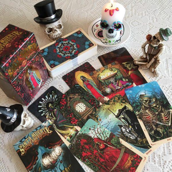 Santa Muerte Tarot 3