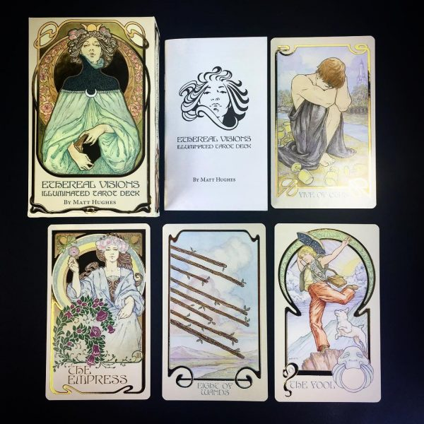 Ethereal Visions Illuminated Tarot Deck 2
