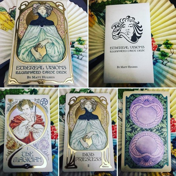 Ethereal Visions Illuminated Tarot Deck 3