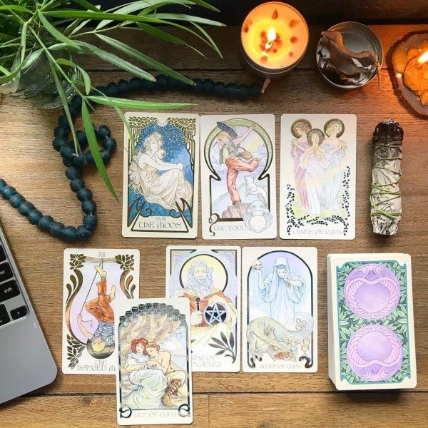 Ethereal Visions Illuminated Tarot Deck 4