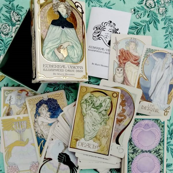 Ethereal Visions Illuminated Tarot Deck 5