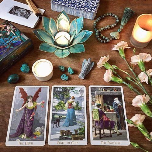 The Victorian Romantic Tarot third edition (metallic overlay)