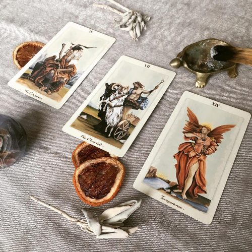 Pagan Otherworlds Tarot Phiên bản 3