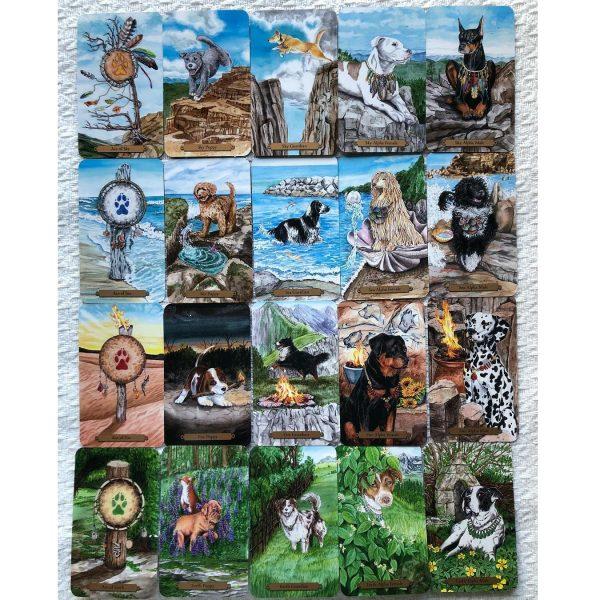 Magical Dogs Tarot 6