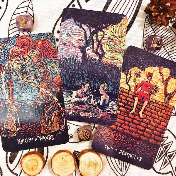 Prisma Visions Tarot Fourth Edition 8