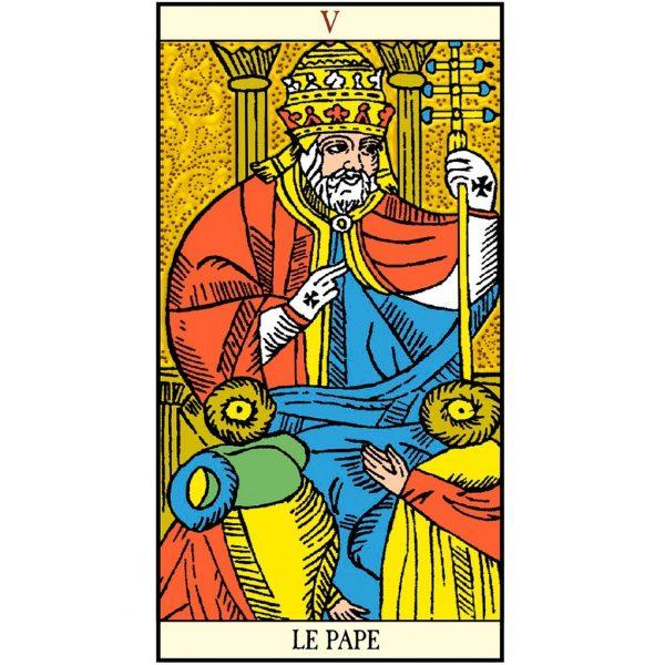 Golden Tarot of Marseille 4