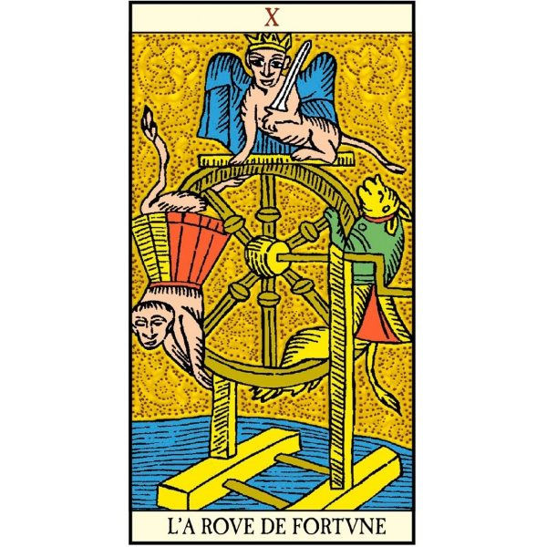 Golden Tarot of Marseille 6