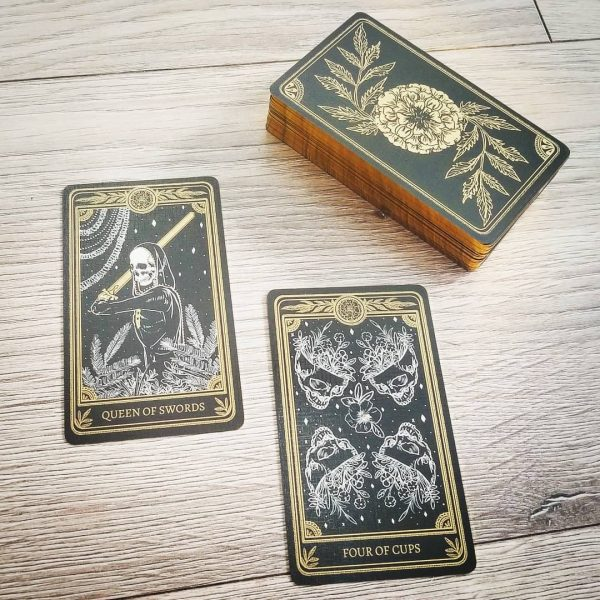 The Marigold Tarot Gold Edition 3