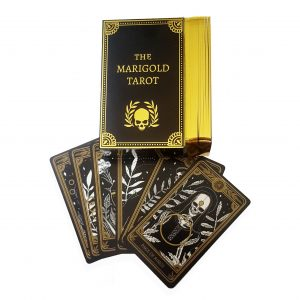 The Marigold Tarot Gilded Gold