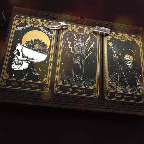 The Marigold Tarot Gold Edition 4