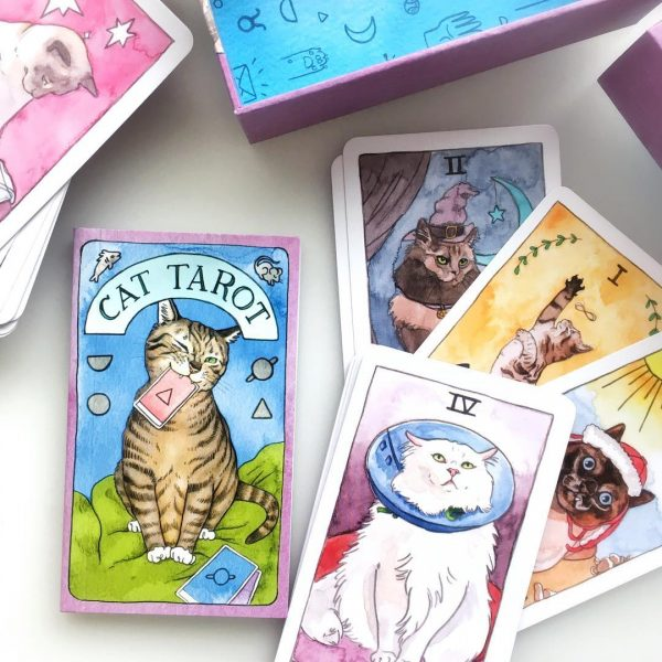 Cat Tarot 3