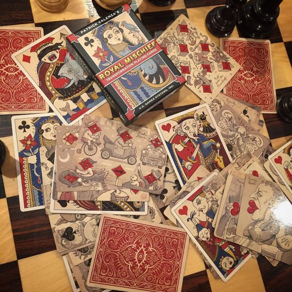 Royal Mischief Transformation Playing Cards 2