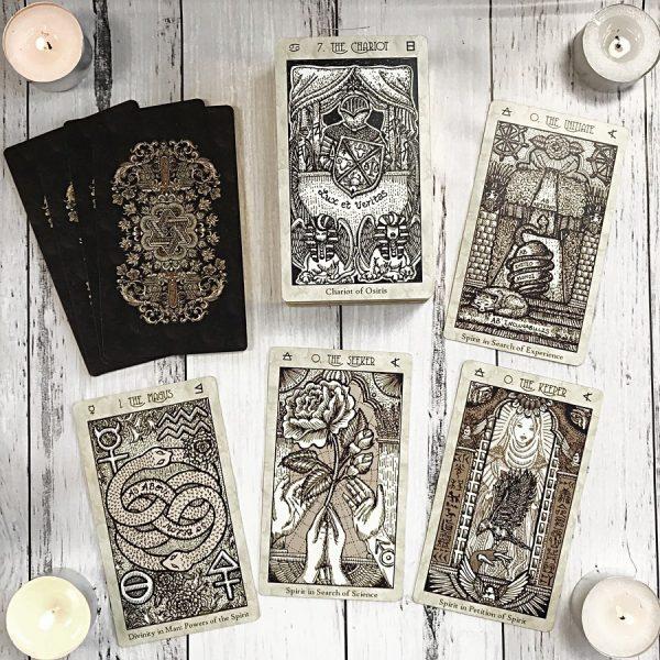 Spirit Keepers Tarot Vitruvian Edition 3