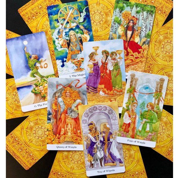 Tarot of the Golden Wheel 2