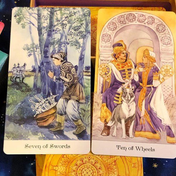 Tarot of the Golden Wheel 3