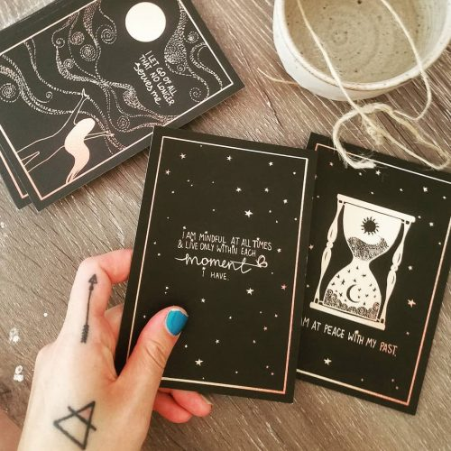 DreamyMoons Affirmation Card